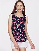 ieftine Bluze & Camisole Femei-Pentru femei Tank Tops Vintage - Floral