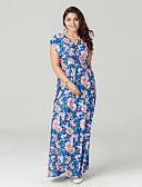 cheap Women's Dresses-TS - Sweet Curve Women's Boho Swing Dress - Floral