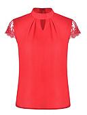 tanie Koszula-Koszula Damskie Golf Solidne kolory