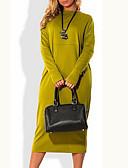 رخيصةأون دانتيل رومانسي-فستان نسائي قياس كبير أساسي ميدي لون سادة