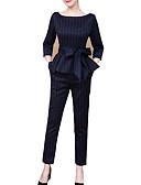 cheap Women's Dresses-Women's Blouse - Solid Colored Pant