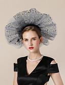 저렴한 파티 헤드피스-기타 자료 모자 와 글리터 1개 결혼식 / 파티 / 이브닝 투구