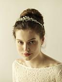 abordables Vestidos de Novia-Brillante Diademas con Perla de Imitación 1 Pieza Boda / Fiesta / Noche Celada