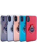 cheap iPhone Cases-Case For Apple iPhone X / iPhone 8 Plus with Stand / Ring Holder / Translucent Back Cover Armor Hard PC for iPhone X / iPhone 8 Plus / iPhone 8