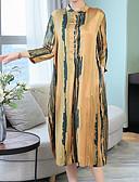 رخيصةأون فساتين للنساء-فستان نسائي على شكل تيشيرت ميدي نحيل مناسب للخارج