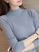 ieftine Bluză-Pentru femei De Bază Mâneci Fluture Plover - Mată, Flori