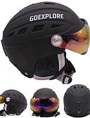 tanie Sukienki łyżwiarskie-Kask narciarski Unisex Snowboard / Narty Regulowany / Jednoczęściowe / Keep Warm EPS / ABS CE EN 1077 / ASTM