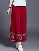 povoljno Ženske hlače-Žene Ulični šik Chinos Hlače Geometrijski oblici