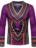 ieftine Maieu & Tricouri Bărbați-Bărbați Tricou Boho / Chinoiserie - Tribal Imprimeu