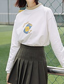 povoljno Majica s rukavima-Žene Osnovni Sportska majica Crtani film