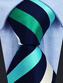 זול עניבות ועניבות פרפר לגברים-עניבת צווארון - פסים / קולור בלוק / סרוג מסיבה / עבודה בגדי ריקוד גברים