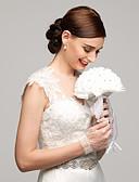 """Χαμηλού Κόστους Πέπλα Γάμου-Λουλούδια Γάμου Μπουκέτα Γάμου Πάρτι / Βράδυ Ελαστικό Σατέν Στρας Σατέν 15,75 """" (περίπου40εκ)"""