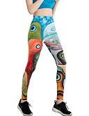 preiswerte Damen Leggings-Latein-Tanz Leggings / Strumpfhosen Damen Training / Leistung Elasthan / Charmeuse Muster / Druck / Elastisch Hoch Hosen