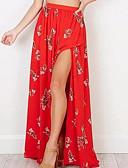 tanie Damska spódnica-Damskie Podstawowy Swing Spódnice Geometric Shape