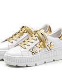 baratos Blusas Femininas-Mulheres Sapatos Confortáveis Pele Napa Verão Rasos Sem Salto Dedo Fechado Branco