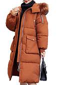 ieftine Costum Damă Două Bucăți-Pentru femei Ieșire Activ Mată Lung Căptușit, Poliester Manșon Lung Iarnă Capișon Trifoi / Alb / Negru L / XL / XXL