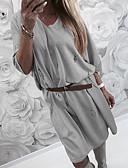 tanie Sukienki-Damskie Moda miejska Spodnie - Solidne kolory Z wycięciem Rumiany róż / Wyjściowe