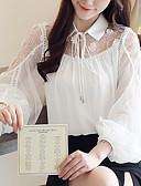 ieftine Tricou-Pentru femei Bluză De Bază - Mată