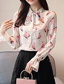 ieftine Bluză-Pentru femei Bluză De Bază - Floral