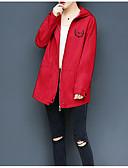 olcso Női viharkabátok-női kabát - kreatív kapucnis
