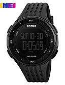 cheap Military Watches-SKMEI Men's Sport Watch Digital Watch Digital 30 m Water Resistant / Water Proof Calendar / date / day Chronograph Silicone Band Digital Casual Black / Blue / Red - Yellow Green Blue