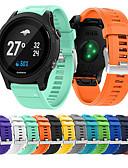 זול להקות Smartwatch-צפו בנד ל Fenix 5 / Fenix 5 Plus / Forerunner 935 Garmin רצועת ספורט סיליקוןריצה רצועת יד לספורט