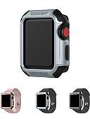 voordelige Smartwatch-zaak-hoesje Voor Apple Apple Watch Series 1 Siliconen / Muovi Apple