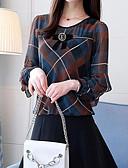 povoljno Majica s rukavima-Bluza Žene - Aktivan Dnevno Geometrijski oblici