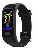 abordables Monitores de Actividad Inteligentes & Brazaletes-KUPENG E07 Pulsera inteligente Android iOS Bluetooth Deportes Impermeable Monitor de Pulso Cardiaco Medición de la Presión Sanguínea Podómetro Recordatorio de Llamadas Seguimiento de Actividad
