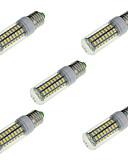 cheap Men's Ties & Bow Ties-5pcs 16 W LED Corn Lights 1650 lm E14 E26 / E27 72 LED Beads SMD 5730 Decorative Warm White Cold White 220-240 V / 5 pcs / RoHS