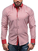 cheap Men's Shirts-men's shirt - striped shirt collar