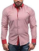 billige Herreskjorter-herreskjorte - stripet skjorte krage