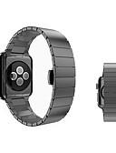 olcso Karóra tartozékok-Rozsdamentes acél Nézd Band Szíj mert Apple Watch Series 3 / 2 / 1 Fekete / Ezüst / Arany 23cm / 9 inch 2.1cm / 0.83 Hüvelyk
