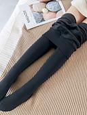 abordables Robe de Patinage-Femme Quotidien Doublure Polaire Legging - Couleur Pleine Taille médiale