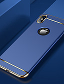 cheap iPhone Cases-Case For Apple iPhone XS / iPhone XR / iPhone XS Max Plating Back Cover Solid Colored Hard PC