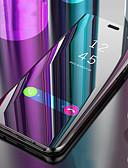 halpa Puhelimen kuoret-Etui Käyttötarkoitus Samsung Galaxy S9 / S9 Plus / S8 Plus Tuella / Peili / Flip Suojakuori Yhtenäinen Kova PU-nahka