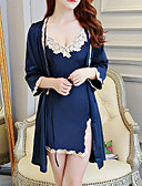preiswerte Roben-Damen Anzüge Nachtwäsche - Spitze Solide / Gurt