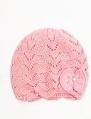 tanie Dziecięce Kapelusze i czapki-Brzdąc Unisex Słodkie Solidne kolory Bawełna Kapelusze i czapki Czerwony / Rumiany róż M / L
