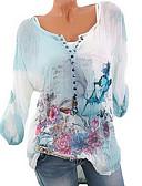 זול חולצה-3D בסיסי חולצה - בגדי ריקוד נשים
