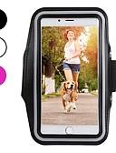 זול מגנים לאייפון-מגן עבור Apple iPhone XS / iPhone XR / iPhone XS Max רצועת זרוע לספורט / עמיד בזעזועים / עמיד לאבק רצועת יד אחיד רך סיבי פחמן