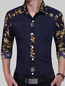 abordables Camisas de Hombre-Hombre Chic de Calle Camisa Geométrico
