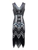 ieftine Rochii NYE-Pentru femei Elegant Zvelt Pantaloni Galben / În V / Sexy