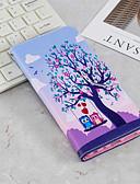 billige Mobilcovers-Etui Til Samsung Galaxy J6 / J4 Pung / Kortholder / Med stativ Fuldt etui Ugle Hårdt PU Læder for J6 (2018) / J6 Plus / J4 (2018)