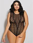 preiswerte Hübsche sexy Damenkleidung-Damen Sexy Anzüge Nachtwäsche - Spitze Solide