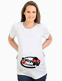 billige Toppe-T-skjorte Dame - Tegneserie Gatemote