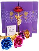 halpa Vintage-kuningatar-Keinotekoinen Flowers 1 haara Klassinen Moderni nykyaikainen Perinteinen Ruusut Pöytäkukka
