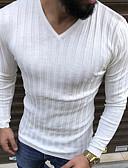 お買い得  メンズTシャツ&タンクトップ-男性用 Tシャツ ストリートファッション ソリッド