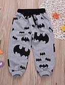 levne Chlapecké kalhoty-Toddler Chlapecké Aktivní Denní Jednobarevné / Geometrický Polyester Kalhoty Tmavě šedá
