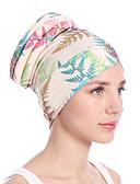 economico Cappelli da donna-Per donna Vintage / Da serata / Vacanze A falda larga Fantasia floreale Foglia tropicale