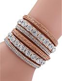 levne Trendy šperky-Dámské Módní Diamant náramek - Barevné bloky Slitina